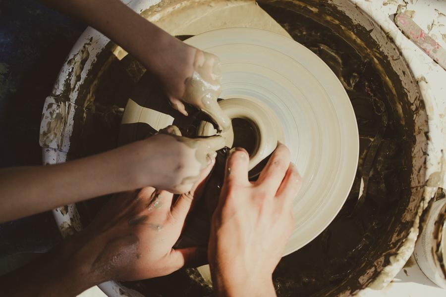 Haferland, Saschiz, ceramics