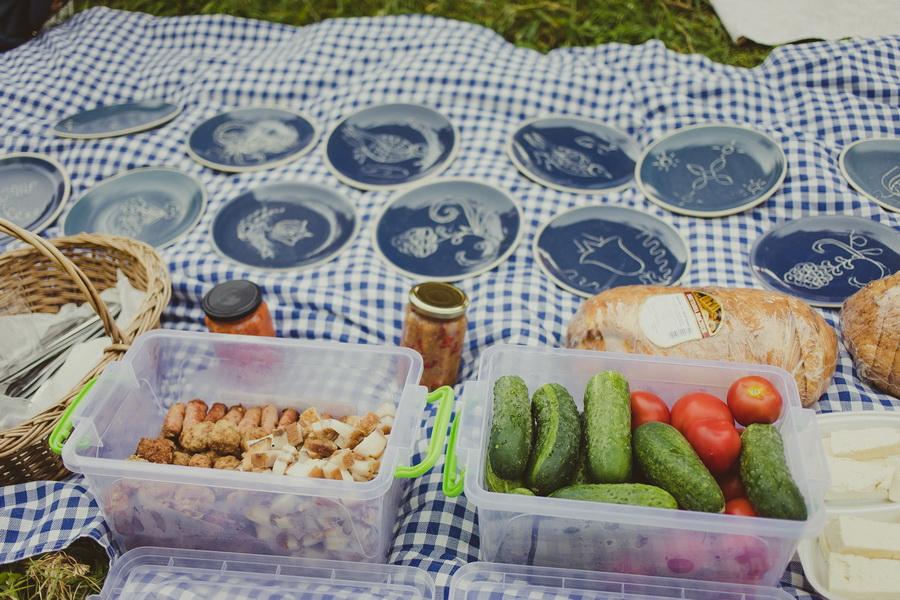 Haferland, picnic la Saschiz