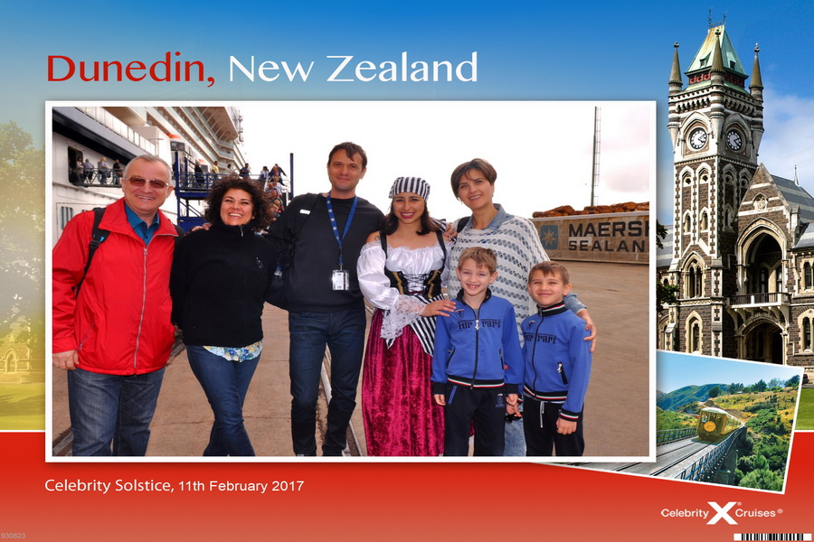 rezervi o croaziera, Dunedin