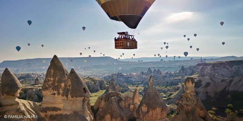 Zborul cu balonul în Cappadocia